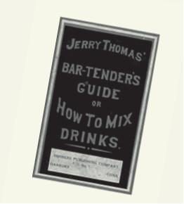 Jerry Thomas - How to mix drinks