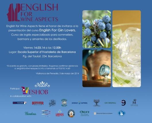 EF Gin Lovers_Presentacion_Cast